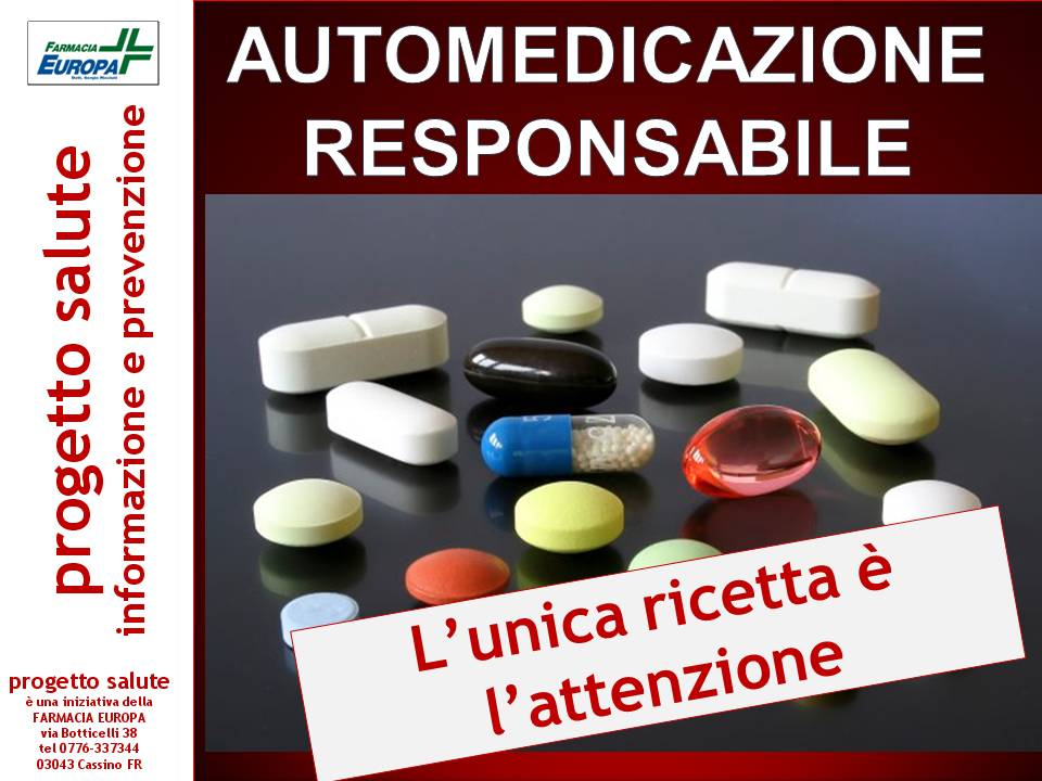 Automedicazione responsabile