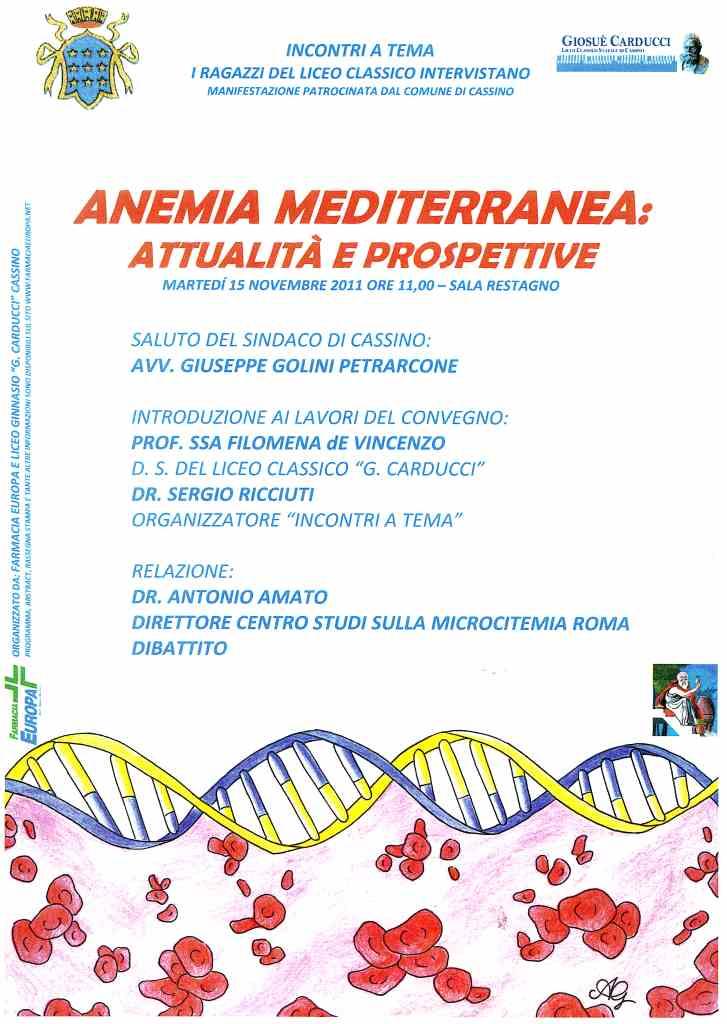 locandina anemia mediterranea 20111115 liceo
