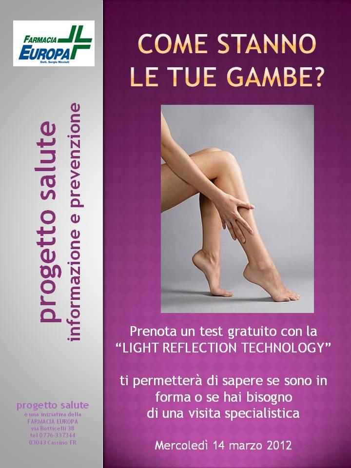 progetto salute vene- locandine 2012 mar
