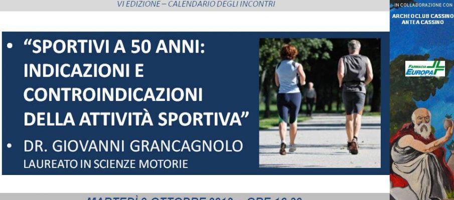 Sport a 50 anni