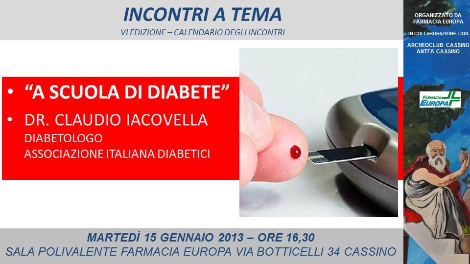conferenza diabete