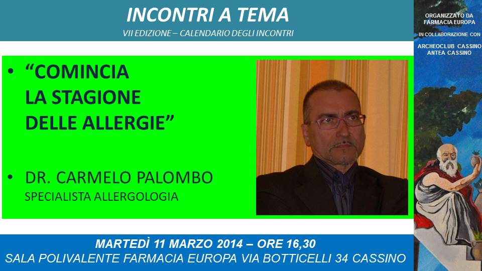 Stagione allergie