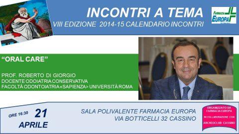 programma 2014-5 - locandine - 14 DI GIORGIO