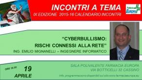 201 – cyberbullismo: rischi connessi alla rete