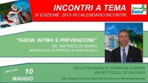 203 – igiene intima e prevenzione